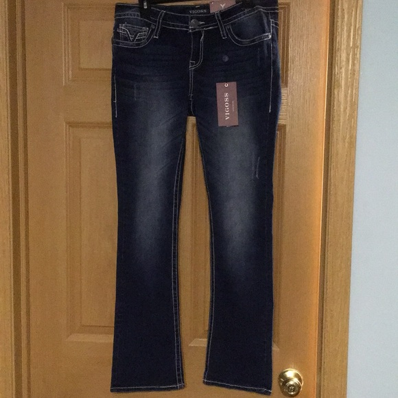 f3f62613c4f Vigoss Heritage Fit Slim Boot Jeans